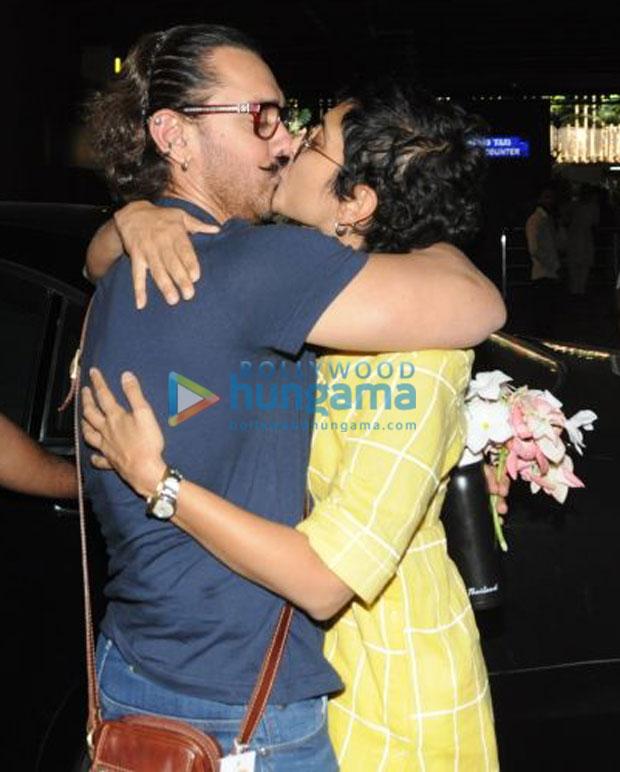 आमिर खान ने खुलेआम किरण राव के होठों पर किस कर मनाया अपना बर्थडे