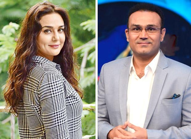 IPL 2018: मैच हार जाने के बाद प्रीति जिंटा ने वीरेंद्र सहवाग पर निकाला गुस्सा