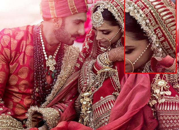 'सदा सौभाग्यवती भव:' लिखी लाल चुनरी पहन दीपिका पादुकोण हुईं रणवीर सिंह की !!