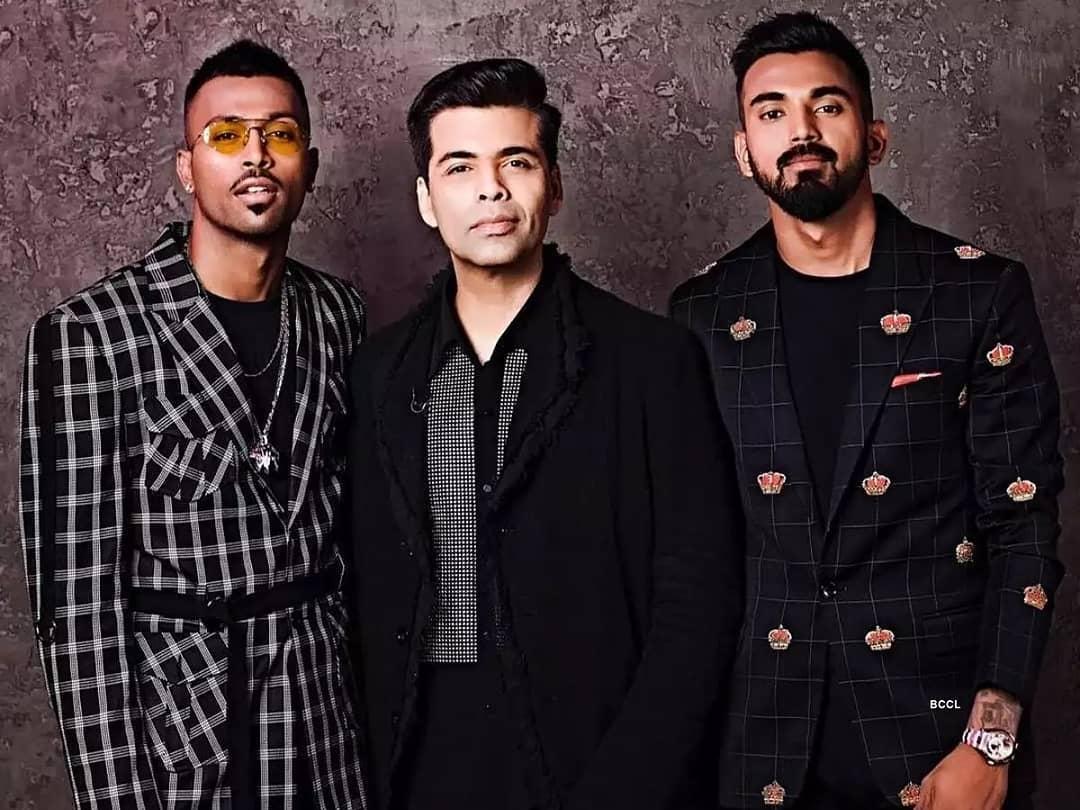 करण जौहर की 'कॉफ़ी' हार्दिक पांड्या और के एल राहुल को पड़ी महंगी, जांच पूरी होने तक हार्दिक और राहुल टीम इंडिया से हुए सस्पेंड
