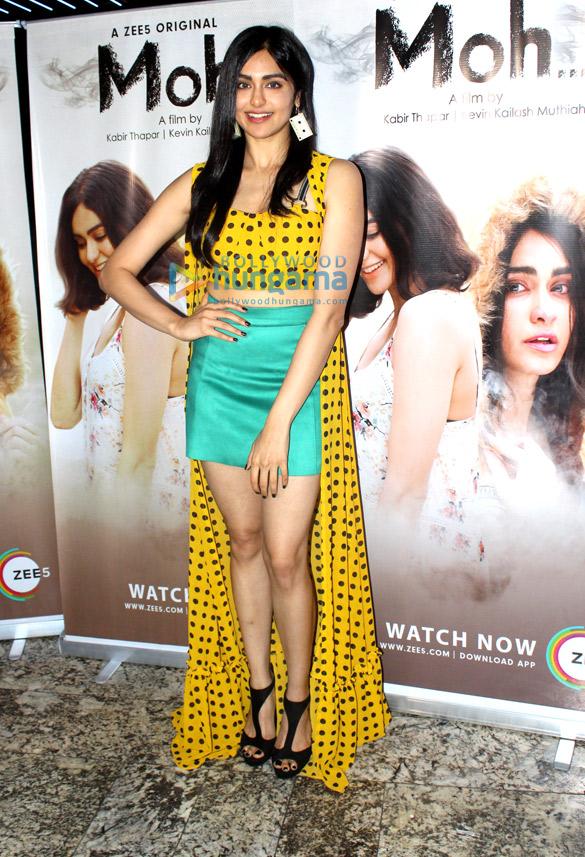 अदा शर्मा Zee5 की ऑरिजनल सीरिज  'Moh…' को प्रमोट करते हुए नजर आईं