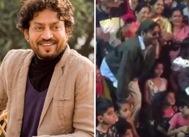 अंग्रेजी मीडियम : इरफान खान को देखने के लिए उमड़ा फ़ैंस का सैलाब, इरफ़ान भी दिल खोलकर मिले अपने फ़ैंस से