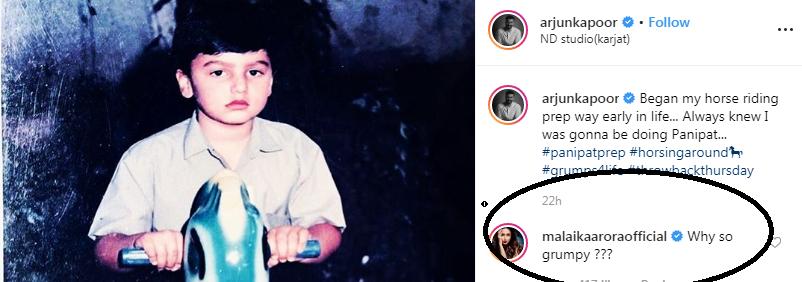 अर्जुन कपूर के बचपन की 'घुड़सवारी' को देख मलाइका अरोड़ा ने पूछा-'इतने गुस्से में क्यों हो'