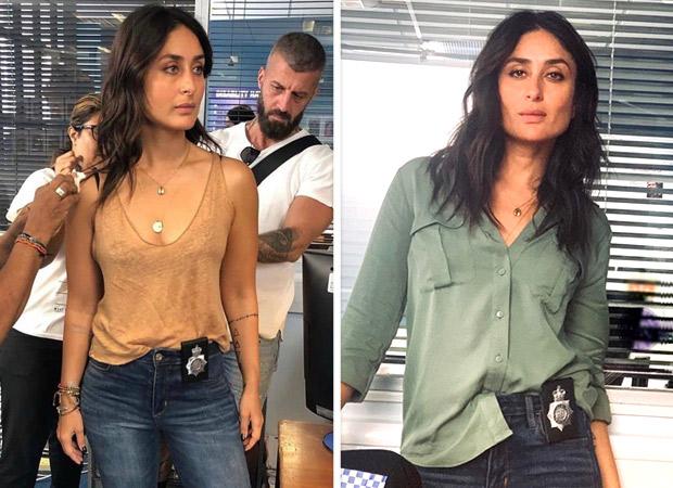 FIRST LOOK: इरफ़ान खान की अंग्रेजी मीडियम में करीना कपूर खान का गॉर्जियस पुलिस अफ़सर लुक आया सामने