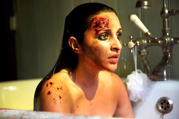 The Girl On The Train: बाथटब में बैठी परिणीति चोपड़ा के माथे से बहते खून ने क्रिएट किया सस्पेंस