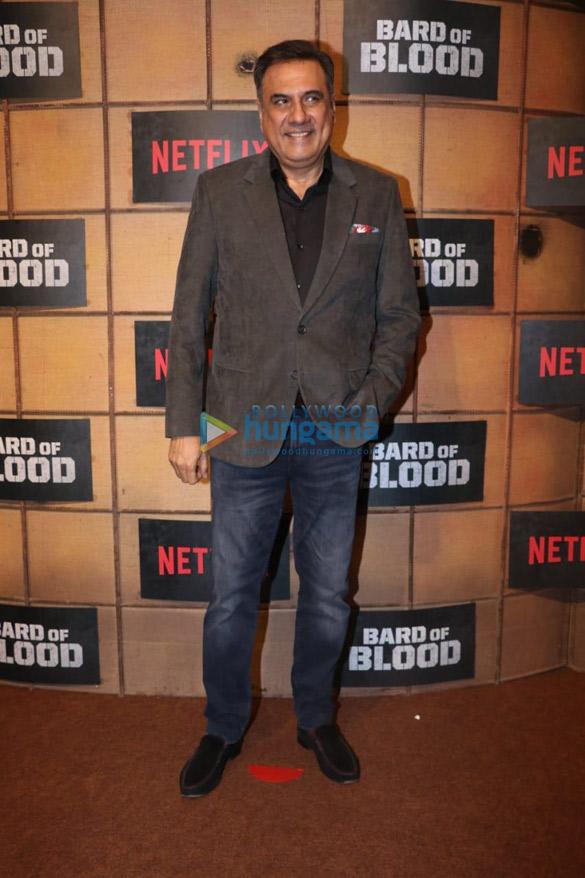 Photos: सितारों ने 'Bard of Blood'की स्पेशल स्क्रीनिंग की शोभा बढ़ाइ
