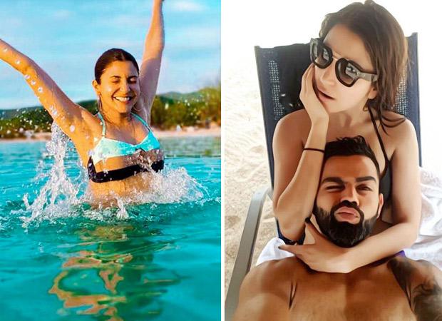 Hot Couple! विराट कोहली ने अनुष्का शर्मा संग दिया रोमांटिक पोज, तो अनुष्का ने दिखाया 'बिकिनी लव'