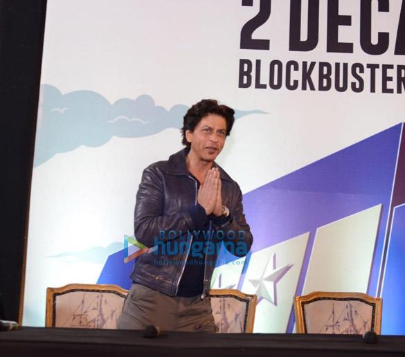 Photos: शाहरुख खन पीवीआर, साकेत नई दिल्ली में नजर आए
