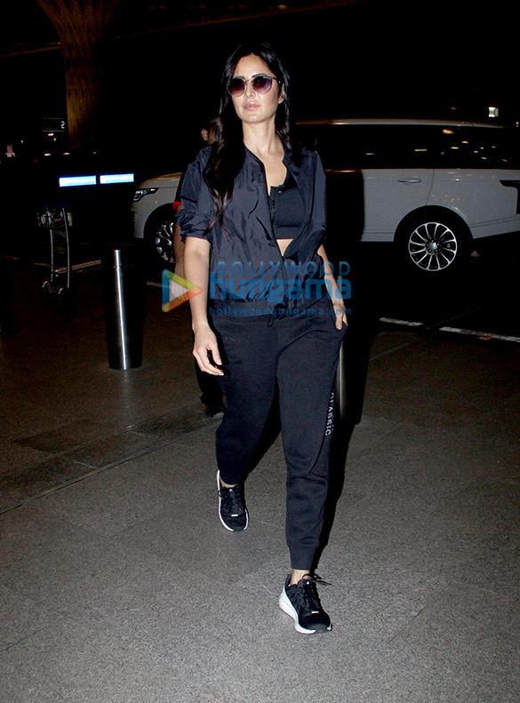 Photos: कैटरीना कैफ़, सारा अली खान, जाह्नवी कपूर और अन्य एयरपोर्ट पर नजर आए