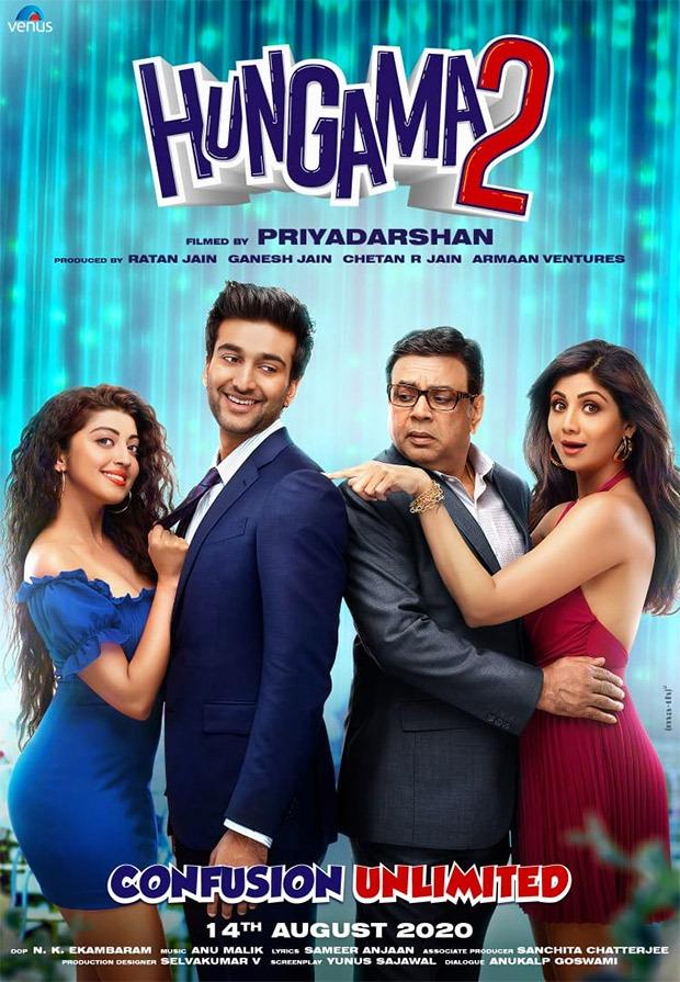 CONFIRMED! शिल्पा शेट्टी और परेश रावल की हंगामा 2 का फ़र्स्ट लुक हुआ रिलीज, 14 अगस्त 2020 को होगी रिलीज