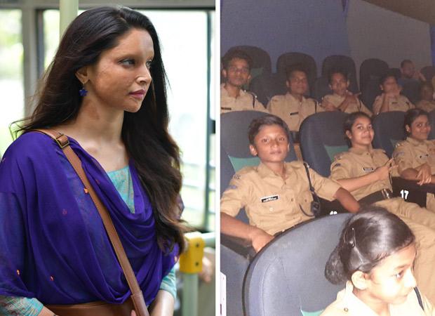दीपिका पादुकोण की छपाक बच्चों और बड़ो के लिए बन रही है प्रेरणा!
