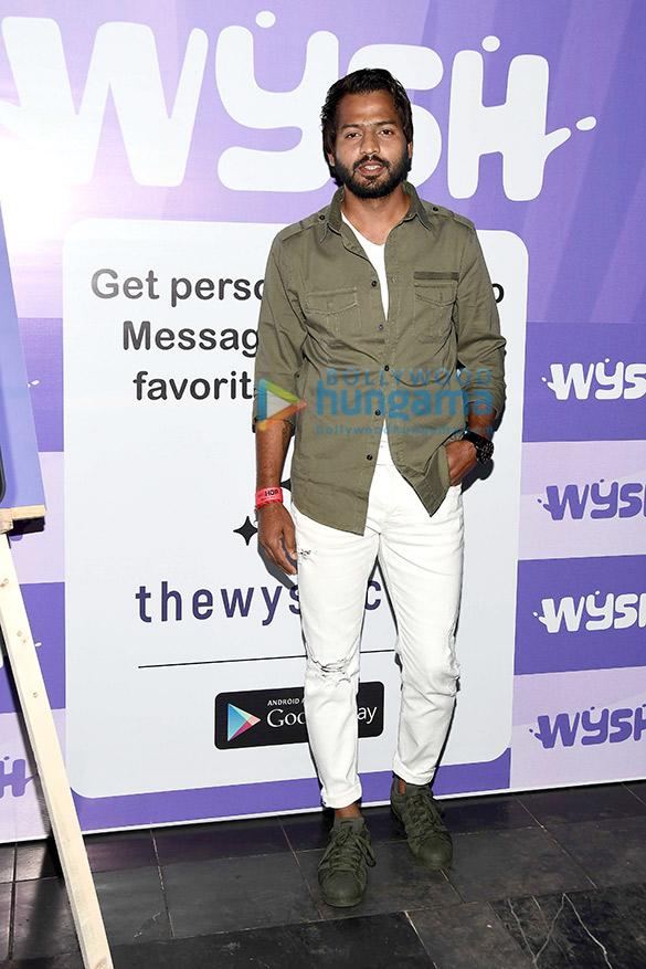 Photos: सितारों ने celebrity app Wysh के लॉंच की शोभा बढ़ाई