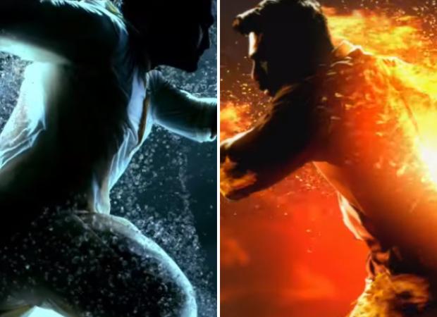 RRR: एस एस राजामौली ने रिलीज किया रामचरण और जूनियर एनटीआर की फ़िल्म का मोशन पोस्टर, पानी और आग की लड़ाई के बीच सामने आया टाइटल लोगो