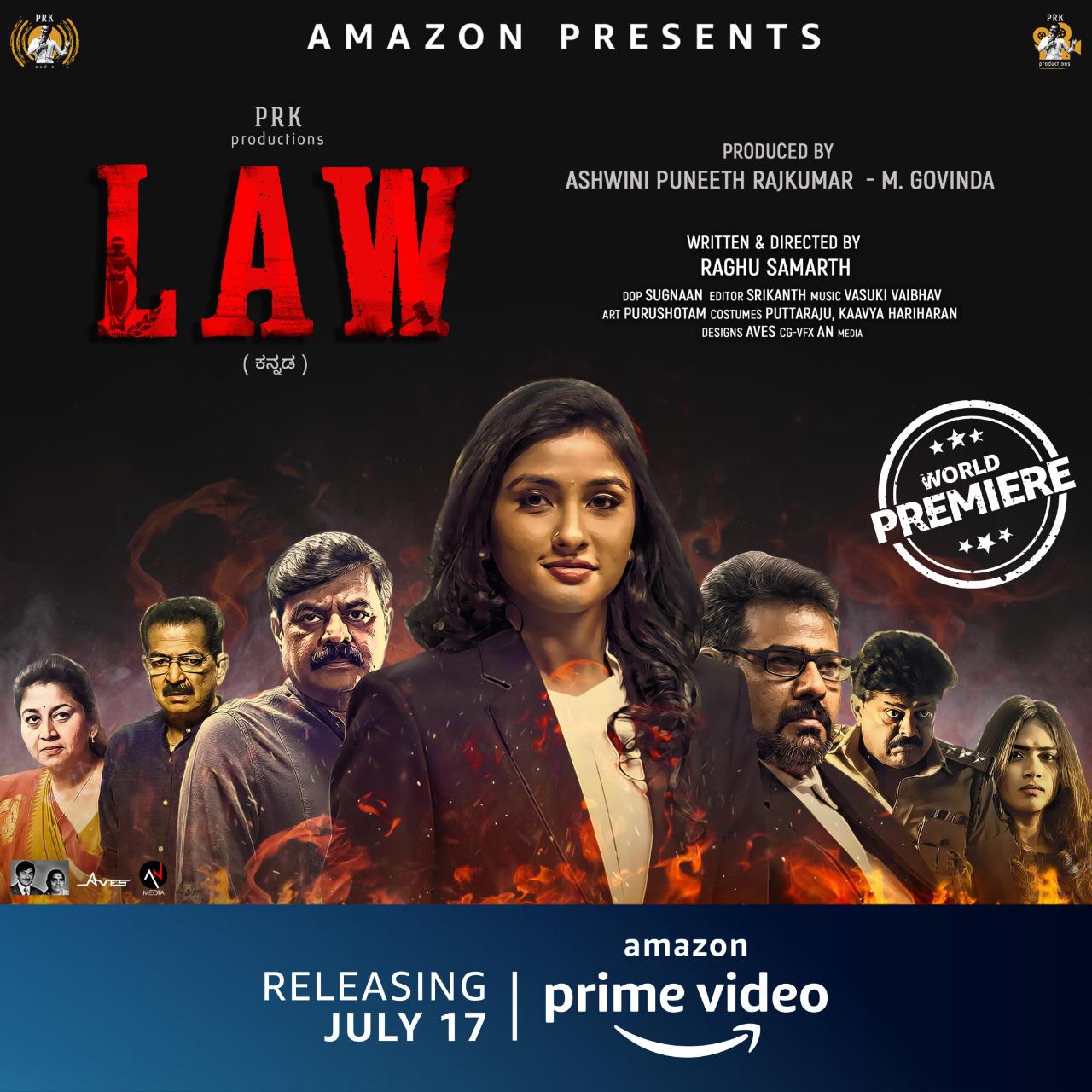 रागिनी चंद्रन ने बताया कि उन्होंने अपनी डेब्यू फ़िल्म के लिए क्राइम-थ्रिलर फ़िल्म लॉ ही क्यों चुनी