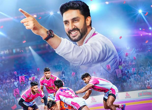 अभिषेक बच्चन की कबड्डी टीम पर बनी सन्स ऑफ द सॉइल : जयपुर पिंक पैंथर्स का पोस्टर हुआ रिलीज़