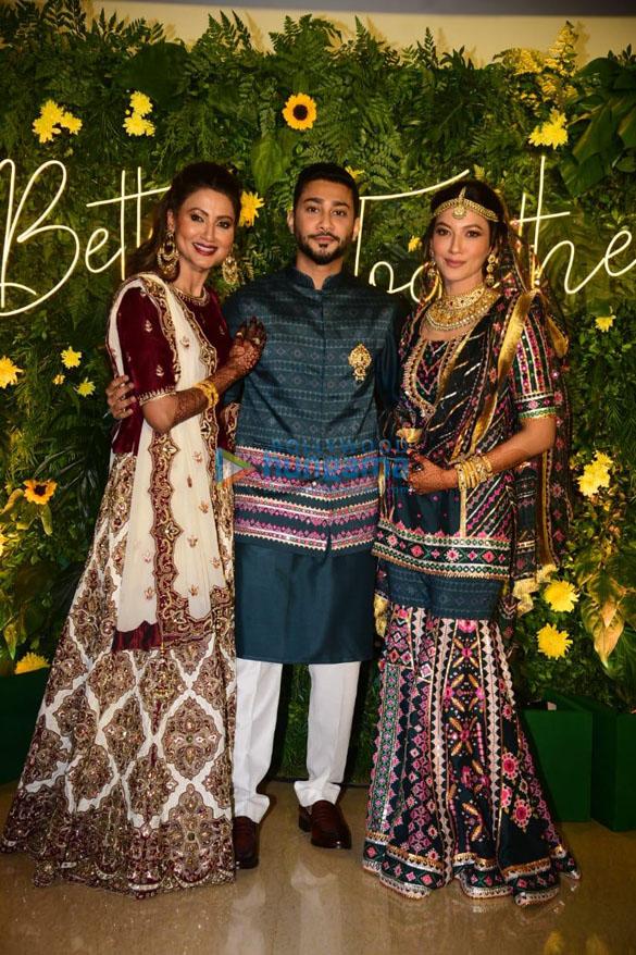 Photos: गौहर खान की मेहंदी सेरेमनी