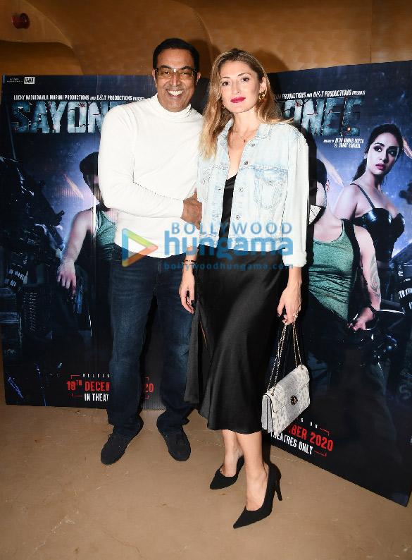 Photos: लकी नाडियाडवाला मोरानी प्रोडक्शंस और डीएंडटी प्रोडक्शंस प्राइवेट लिमिटेड के फ़िल्म सयोनी का प्रीमियर