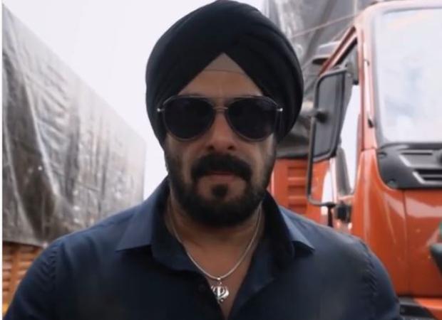 आयुष शर्मा की गैंगस्टर ड्रामा अंतिम से सिख पुलिस ऑफ़िसर के रूप में सलमान खान का फ़र्स्ट लुक