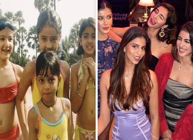 Then and Now: सुहाना खान के साथ नव्या नवेली नंदा और अनन्या पांडे ने शेयर की अपनी ग्लैमरस गर्ल गैंग की अनदेखी फ़ोटो