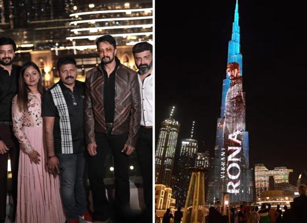 भारतीय सिनेमा में किच्चा सुदीप के 25 सालों को दुबई नेकिया सेलिब्रेट, बुर्ज खलीफा पर दर्शाया गया विक्रांत रोणा का टाइटल लोगो