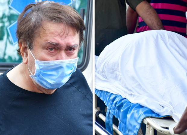 PICTURES-Randhir-Kapoor-spotted-at-the-hospital-before-arriving-with-Rajiv-Kapoor's-mortal-remains-at-their-residence