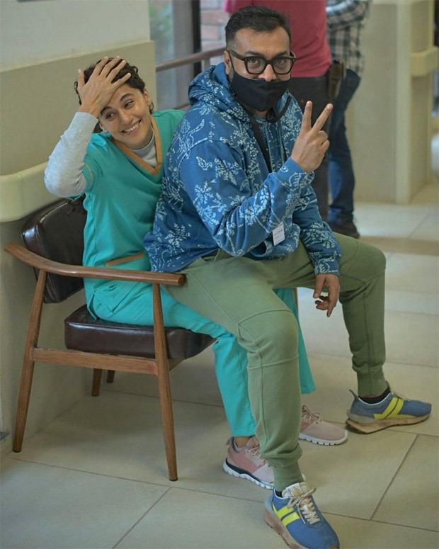 तापसी पन्नू और अनुराग कश्यप ने शुरू की दोबारा की शूटिंग, टाइम ट्रेवल पर आधारित है फ़िल्म