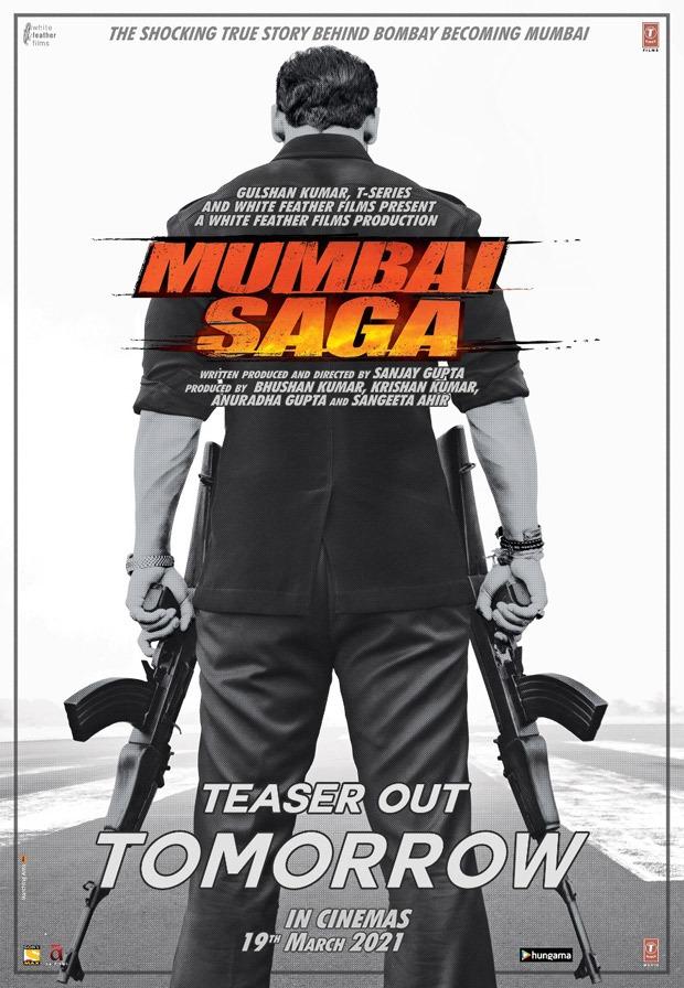 CONFIRMED! जॉन अब्राहम और इमरान हाशमी की गैंगस्टर थ्रिलर मुंबई सागा 19 मार्च को थिएटर में होगी रिलीज