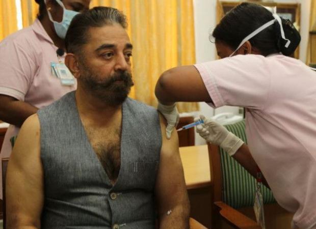 कमल हासन ने चेन्नई में लगवाई कोरोना वैक्सीन, वैक्सिनेशन के बाद लोगों को दिया एक स्ट्रॉन्ग मैसेज