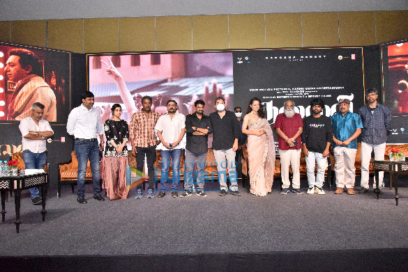 Photos: कंगना रनौत चेन्नई में थलाइवी के ट्रेलर लॉन्च में नजर आईं