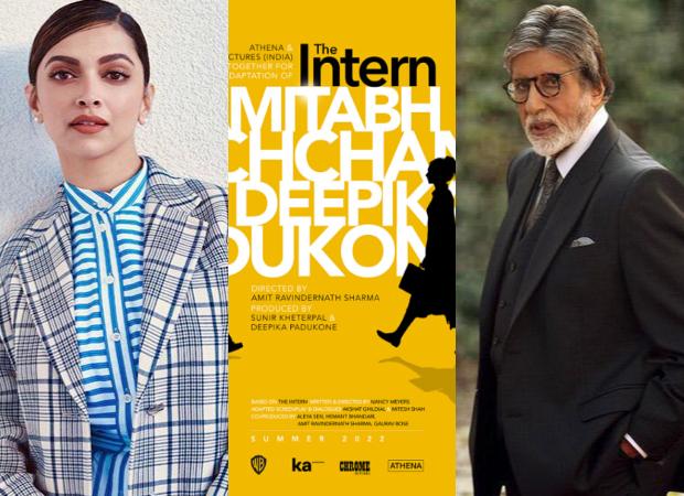 WE BROKE IT FIRST! दीपिका पादुकोण ने अमिताभ बच्चन के साथ अनाउंस की हॉलीवुड फ़िल्म द इंटर्न का हिंदी रीमेक