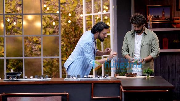 Photos: अर्जुन कपूर और ताहिरा कश्यप You Got Chef'd के सेट पर नजर आए