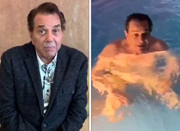 अंतर्राष्ट्रीय योग दिवस के मौके पर 85 वर्षीय धर्मेंद्र ने स्विमिंग पूल के अंदर किया एरोबिक्स, अपनी फ़िटनेस से लोगों को किया इंस्पायर