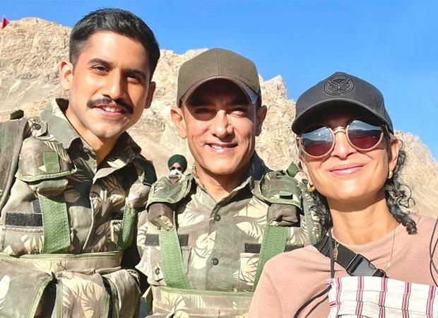 साउथ स्टार नागा चैतन्य ने आमिर खान के साथ कारगिल में शुरू की लाल सिंह चड्ढा की शूटिंग, फ़र्स्ट लुक के साथ सामने आया उनका किरदार