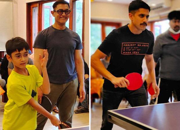 लद्दाख में लाल सिंह चड्ढा की शूटिंग के बीच आमिर खान ने उठाया टेबल टेनिस टूर्नामेंट का लुत्फ, किरण राव ने भी दिया साथ