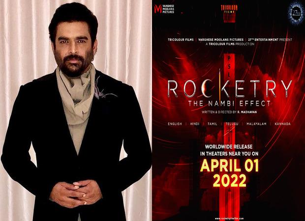 आर माधवन की मिस्ट्री ड्रामा रॉकेट्री: द नंबी इफेक्ट 1 अप्रैल 2022 को दुनिया भर में होगी रिलीज, स्पेशल रोल में नजर आएंगे शाहरुख खान