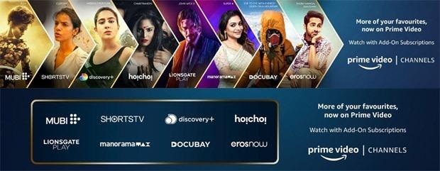 अमेजॉन ने भारत में अनाउंस किए प्राइम वीडियो चैनल्स ; बहुत से प्लेटफॉर्म का कंटेंट अब प्राइम पर होगा उपलब्ध